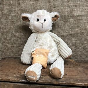 Scentsy Buddy Lenny the Lamb with Camu Camu Pouch